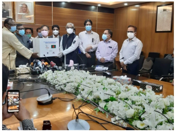 2020/09/02 Taiwan Noble Medical Group participated in donation of Bangladesh epidemic prevention materials and 100,000 medical masks were delivered successfully